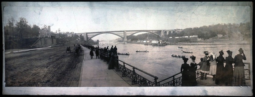 Boat Club Parade, Harlem River – 1902